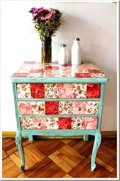 Cute dresser for a little girl's room.