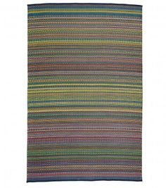 Another cool rug made from recycled plastic and works outdoors. Would love for my porch or deck.