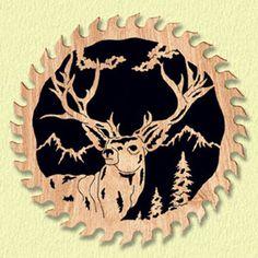 High Ridge Deer Circle Saw Project Pattern