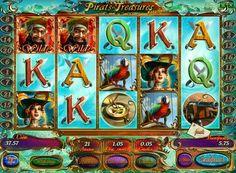 Spielen Pirates Treasures HD-Steckplatz um echtes Geld. Online-Spiel Pirates Treasures HD wird Ihnen sagen, die Abenteuer des unerschrockenen Korsaren, pflügen die Meere auf der Suche nach Schätzen. Dieses Gerät ermöglicht es Ihnen, großzügige Geldpreise durch Boni und Sonderzeichen zu erhalten. Daher wird in der Pirates Treasure Slot HD profitable, um