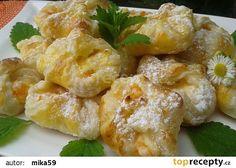 ** Listové šátečky s náplní z tvarohu, pudingu a meruněk ** recept - TopRecepty.cz