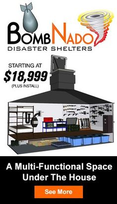 Atlas Survival Shelters-Underground Shelters-Bomb Shelters