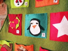 felt mittens on advent calendar | ... else has an advent calendar like ours and I'll treasure it forever