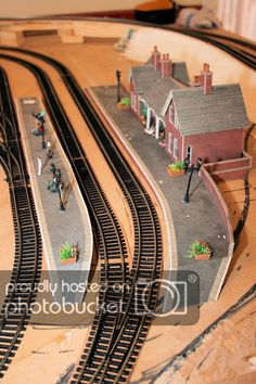 Upgrade from - Model Rail Forum N Scale Model Trains, Model Train Layouts, Scale Models, Train Car, Train Tracks, Ho Scale Train Layout, Model Railway Track Plans, Electric Train Sets, Ho Trains