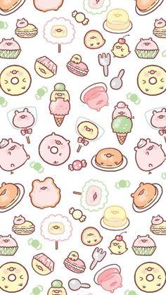 New Wallpaper Ipad Cute Beautiful 38 Ideas Pig Wallpaper, Iphone Background Wallpaper, Kawaii Wallpaper, Aesthetic Iphone Wallpaper, Pattern Wallpaper, Trendy Wallpaper, Wallpaper Ideas, Photo Wallpaper, Cute Kawaii Drawings