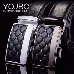 Mens Belts Designer Luxury Men Leather Belt 2017 Cowskin Fashion Genuine Leather Waist Strap High Quality Male Metal Buckle belt