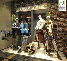 Pepe Jeans Christmas windows 2012, Budapest