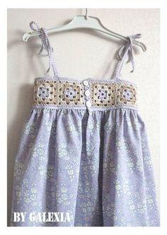 Robe_granny_3 [] #<br/> # #Granny #Squares,<br/> # #Crochet #Dresses,<br/> # #Crochet<br/>