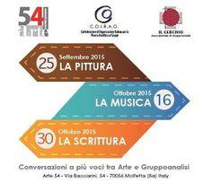 EVENTI A BARI: La pittura, la musica e la scrittura alla 54 Arte ...