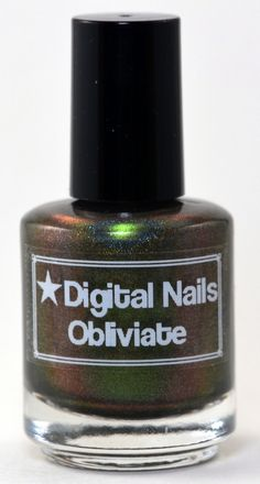 Obliviate: a Digital Nails nail lacquer inspired by the memory wipe SPELL! on Etsy, $14.86 CAD