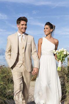 Image result for beige three piece suit groom