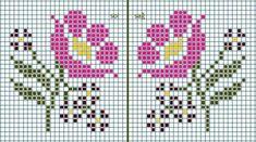 Cross Stitch Beginner, Tiny Cross Stitch, Cross Stitch Boards, Cross Stitch Alphabet, Cross Stitch Flowers, Cross Stitching, Cross Stitch Embroidery, Embroidery Patterns, Cross Stitch Patterns