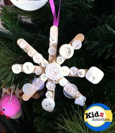 Snowflake Craft for Kids - Kidz Activities