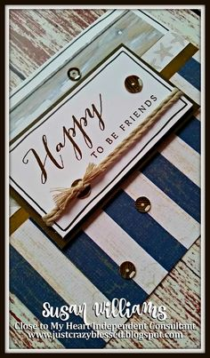 Guess what has arrived? After numerous requests I've created a 'No Worries' Cardmaking Workshop in addition to the Scrapbooking Workshop I ...