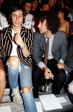 Nick Valensi and Albert Hammond Jr - The Strokes