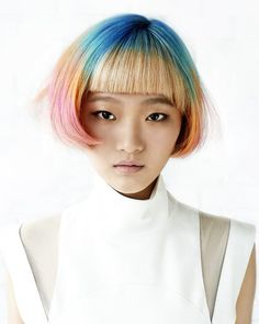 Candy Hair by Chefuu Lee @ The Editor Salon #hairinspiration