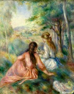 Renoir...i love this reminds me of my girls