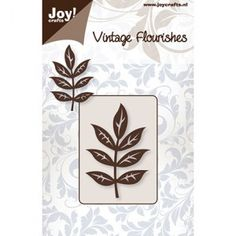 Joy crafts 6003/0038 - Leaf