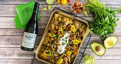 Written by Kristin Mansky of Modish & Main Football post-seasonis underway and these gameday pulled pork nachos are the winning appetizer to serve up while cheering on your team to a victory!