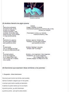 Análisis literario de los poemas a Guiomar (trabajos de los alumnos/as)
