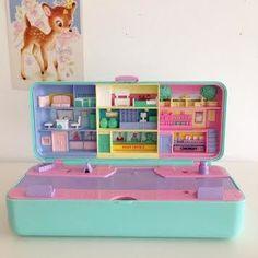 Image of Polly Pocket Vintage Bluebird High Street Money Box