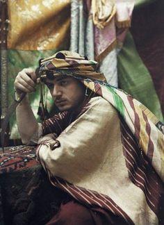 "mediterraneum: ""Portrait of an Arabian Emir, Damascus, Syria, 1925. """