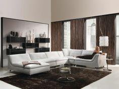 weißes couch als ein gute idee fürs wohnzimmer - Wie ein modernes Wohnzimmer aussieht – 135 innovative Designer Ideen