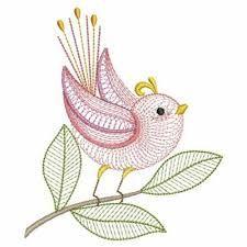bird embroidery ile ilgili görsel sonucu