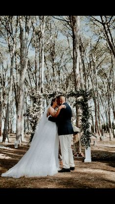 Forest Weddings Wedding venue in Cape Town close to Stellenbosch Sunset wedding photography Ido @ WineryRoadForest Ceremony inside Forest with white arch and pennygum decoration