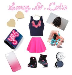 """""""Swagg & Cute"""" by qveen-james ❤ liked on Polyvore"""