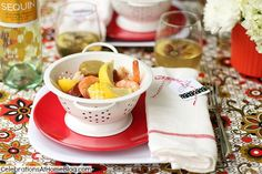 IDEAS & RECIPES TO HOST A SHRIMP BOIL #cwcolor — Celebrations at Home