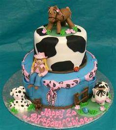 Image detail for -Description: Country girl birthday cake