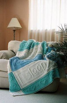 PRAYER pattern for crocheted blanket by ColorandShapeDesign