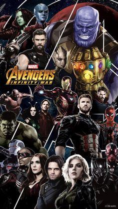 Lengkapi perangkat seluler anda dengan wallpapers dari Avengers: Infinity War!