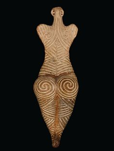Spiral Goddess - about 4000 BC, Romania.