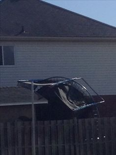 When you are having a bad day then you try to put a trampoline up  Daily Meme #2