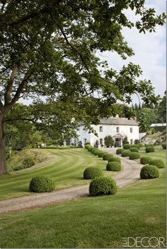I love  how  far back you have to drive to get to the house this is similar  to the entrance I want for my place but more tree possibly would be  lovely Most Beautiful Gardens, Beautiful Homes, English Country Manor, Welsh Country, Landscape Design, Garden Design, Architecture Durable, Shade Garden, Garden Inspiration