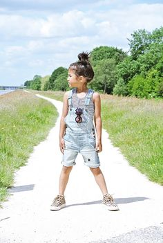 Life With Faye Blog - INSPIRATION FOR FUNKY LITTLE GIRLS: OUTFIT: SHORTALLS