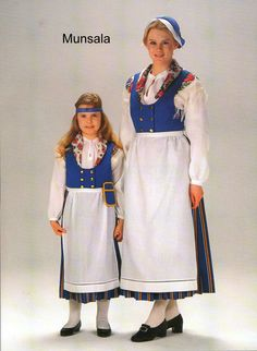 A national dress from Munsala Finland.
