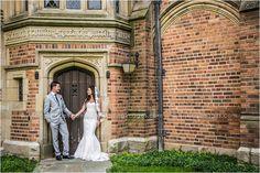 Beautiful bride and groom photo at Meadow Brook. #arisingimages #michigan…