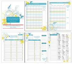 free Homeschool Daily Planner