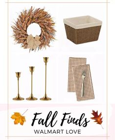 Doingart Artificial Fall … curated on LTK Place Cards, Walmart, Decorating Ideas, Place Card Holders, Fall, Autumn, Fall Season