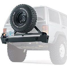 WARN Jeep Cherokee XJ Heavy Duty Tire Carrier