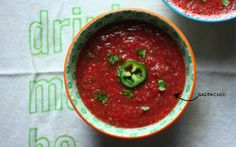 Gazpacho! by Adrienne Eats #slavefreetomatoes