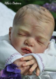 Alla's Babies Reborn Baby Doll Prototype Julietta Natalie Blick L E 500