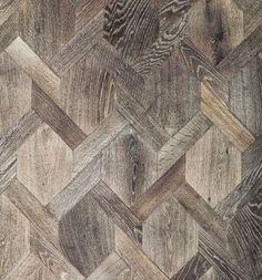 gorgeous wood inlay floor