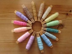 'Iced Cupcake colour palette :: 15 shades of Stylecraft Special DK'