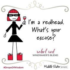 Rebel gets a pass. #wine #middlesisterwines #winewednesday #dropsofwisdom