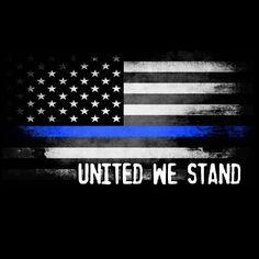 Thin Blue Line Flag T-shirt Police Support Patriotic Blue Lives Matter T SHIRT #LimpinLarrysTshirts #GraphicTee