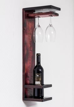 Wine Shelves, Wine Storage, Wooden Shelves, Crate Shelves, Record Storage, Wooden Crates, Glass Shelves, Wooden Boxes, Wine Glass Holder